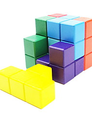 Magic Cube IQ Cube / Three-layer / Smooth Speed Cube Magic Cube puzzle Rainbow Wood