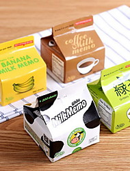 Creative Milk Box Extract Post-It Notes