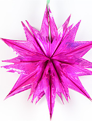 Plastic Wedding Decorations-1Piece/Set Ornaments Christmas Classic Theme Pink / Silver / Green / Blue