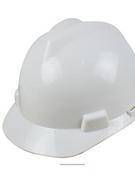 White Yellow Orange Red And Blue Construction Site Safety Abs Flame Retardant Anti-Smashing Helmets V-Gard