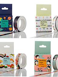1set Colorful Masking tape