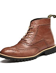 Men's Boots New Arrival/Brogue Boots/Leather/Windsor Style/Fashion Shoes  /Casual Dress/Hot Sale