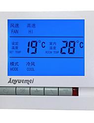 régulateur d'humidité de température pour climatiseur central (prise en courant alternatif 220V; plage de température: 0-60 ℃)