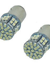 2pcs super brillantes 1157 1156ba15s 5w 50smd 1206 3020 DC12V Clignotant feux de stop Ampoule LED auto voiture