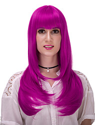 Purple long straight hair wig.WIG LOLITA, Halloween Wig, color wig, fashion wig, natural wig, COSPLAY wig.