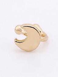 Earring Heart Stud Earrings Jewelry Women Sexy / Bikini / Fashion Wedding / Party / Daily / Casual Alloy 1 pair Gold / Silver