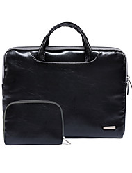 Business Fashion PU Leather Laptop Bag for Macbook Air 11.6/13.3 Macbook Pro 13.3/15.4 Macbook 12