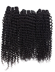 3 Pieces Deep Wave Human Hair Weaves Brazilian Texture Human Hair Weaves Deep Wave