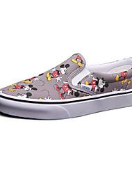 Vans X Disney Slip-On Men's Shoes Animal Print Canvas Outdoor / Athletic / Casual Sneakers Indoor Court