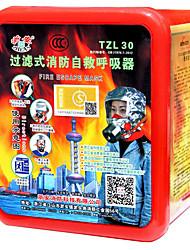 filtro de fogo auto aparelhos de respiração (gás de trabalho; Material: folha de alumínio)