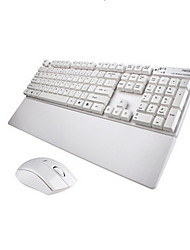 Kabellos USB Tastatur & MausForWindows 2000/XP/Vista/7/Mac OS