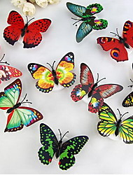 coloré petite lumière de nuit papillon lumineux, une lumière de nuit