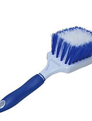 material de limpeza carro escova de limpeza automotiva roda (cor aleatória)