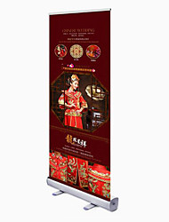 Factory Direct Aluminum Frame Advertising Display Equipment Roll Up Display Rack 60X160