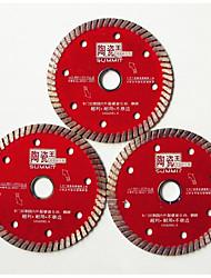 keramiske fliser forarbejdning smergel klinger i rustfrit stål (specifikation: 105 * 20 * 1,6 mm; materiale)