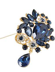 женский кристалл цветок брошь для украшения свадебного банкета шарф, ювелирных украшений