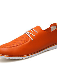 Ultra Light Men's High Quality Upper Lace-up Flat Shoes for British Style Man's Casual Shoes for Business/Office