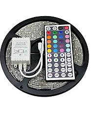 z®zdm 5m 150x5050 SMD LED RGB faixa de luz IP20 com controle remoto 44teclas (DC12V)