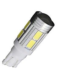 2x t10 blanc 158 194 168 W5W 5730 10 SMD LED lampe ampoule super voiture 12v