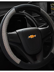 Microfibra couro cobertura de volante se sentir confortável, deslizamento impermeável respirável
