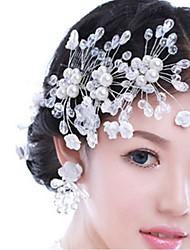 Femme Alliage Casque-Mariage Fleurs 1 Pièce