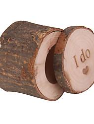 Cajas de Regalos(Chocolate / Marrón,Madera) -Tema Clásico-Matrimonio