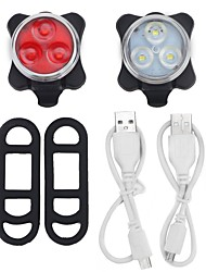 Bike Lights / Front Bike Light / Rear Bike Light LED - Cycling Easy Carrying / Warning Other 40 Lumens USB Everyday Use / Cycling/Bike