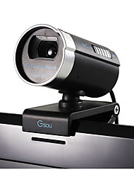 HD Desktop Computer Night Vision Camera With Microphone Receiver Webcam