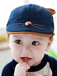 Kid's Cute Cat Beret Cap(6-18Month),Red/Blue/Navy blue/Yellow