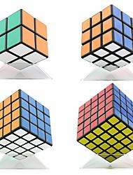 Shengshou® Cube de Vitesse  2*2*2 3*3*3 4*4*4 5*5*5 Vitesse Niveau professionnel Soulage le Stress Cubes magiques Noir Autocollant lisse