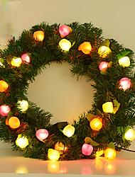 1шт привело рождественские украшения интерьера фрукты igarland свет ночи