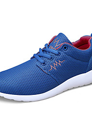 Unisex Sneakers Spring / Fall Comfort Tulle Casual Flat Heel  Black / Blue / Red / Royal Blue / Fuchsia Walking