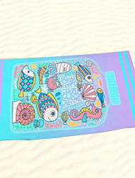 "1 PC Micro Fiber Beach Towel 55"" by 27"" Cartoon Pattern"
