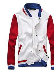 In The Autumn Winter Leisure Fleece Jacket Male Teenagers Collar Men Leisure Fashion Coat