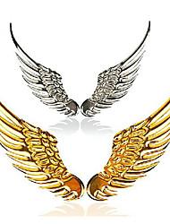 ali delle ali dell'aquila puro metallo adesivi coda di automobili logo adesivi decorazione personalizzata 3d stereo posta refit