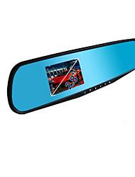 3.8 pulgadas registrador de visión trasera unidad de espejo, l300 gran angular de visión nocturna grabadora de 720p de conducir