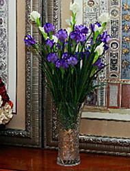 1 1 Ramo Poliéster / Plástico Outras Flor de Mesa Flores artificiais 29.5inch/75cm