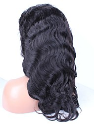 """Бейонсе 6a малайзийский волны тела полные парики шнурка человеческих волос для черных женщин 20 """"-24"""""""