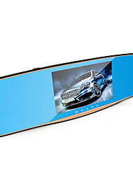5 Inches HD Screen 1080P Dual Lens Lanbo Rearview Mirror Driving Recorder