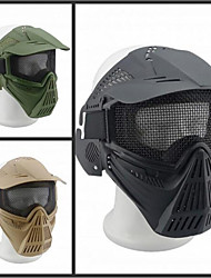 CS Steel Wire Full Face Nylon Large Mask Field Tactical Iron Net 07 Shield