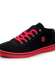 Da uomo-Sneakers-Casual-Comoda-Piatto-Scamosciato-Blu Verde Rosso