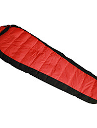 Sleeping Bag Mummy Bag Single -15 Duck Down 1500g 210X80 Hiking / Camping KEEP WARM / Compression / Cold Weather SY