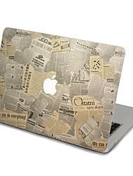 MacBook Front Decal Sticker Newspaper For MacBook Pro 13 15 17, MacBook Air 11 13, MacBook Retina 13 15 12