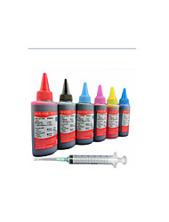 Epson Printer Ink 100ML A Pack Of 6 Boxes, Each Box Different Colors, Black, Red, Yellow, Blue, Light Blue, Light Red