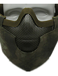 Green Color Other Material Protection Accessories Outdoor War Games FG Protection Mask
