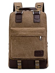 Unisex Canvas Sports / Outdoor Backpack
