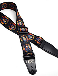 Guitar Strap Wholesale Bakelite Guitar Strap Thermal Transfer And Flag Cotton Guitar Strap