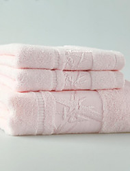 Ensemble de serviette de bain-Jacquard- en100% Coton-33*74cm ; 70*140cm