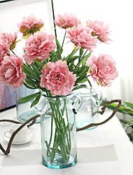 Simulation Of Peony Flowers Home Decoration Silk Flower Crafts Beam Plant Peony