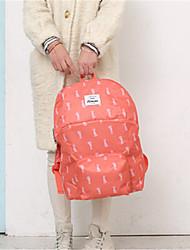 animal bonito prática impermeável dobrável mochila de viagem